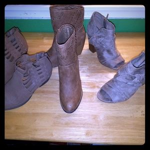 3 pairs boot shoes women 7.5 7 1/2 american eagle
